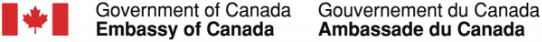 Government of Canada Embassy of Canada Logo